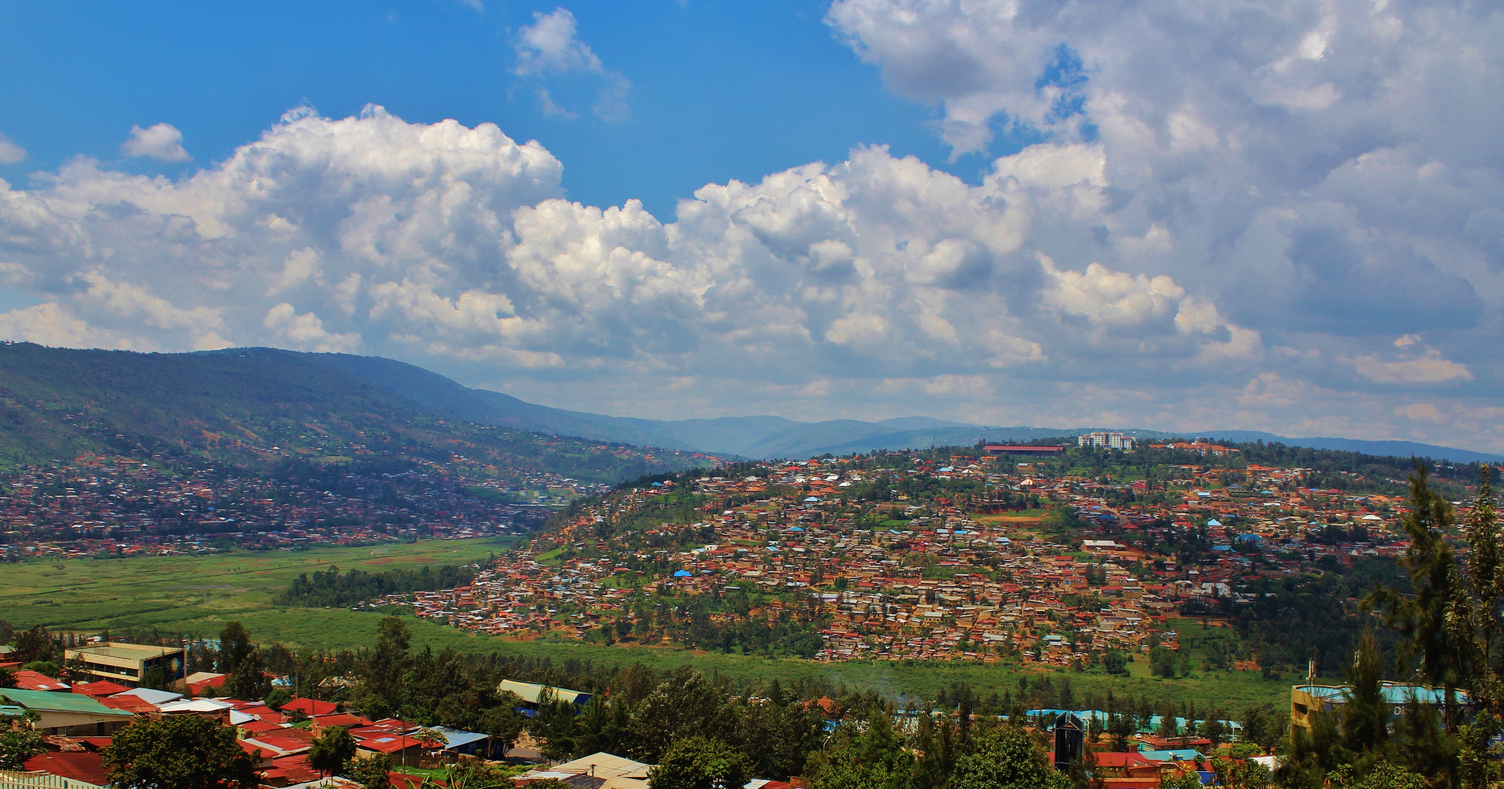 Kigali has a decent number of the 1,000 hills Rwanda is said to have
