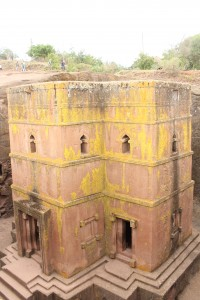 King Lalibela had these churches built to mimic Jerusalem in order to save his subjects the hassle of going all the way there. Now it's the tourist mecca of Ethiopia