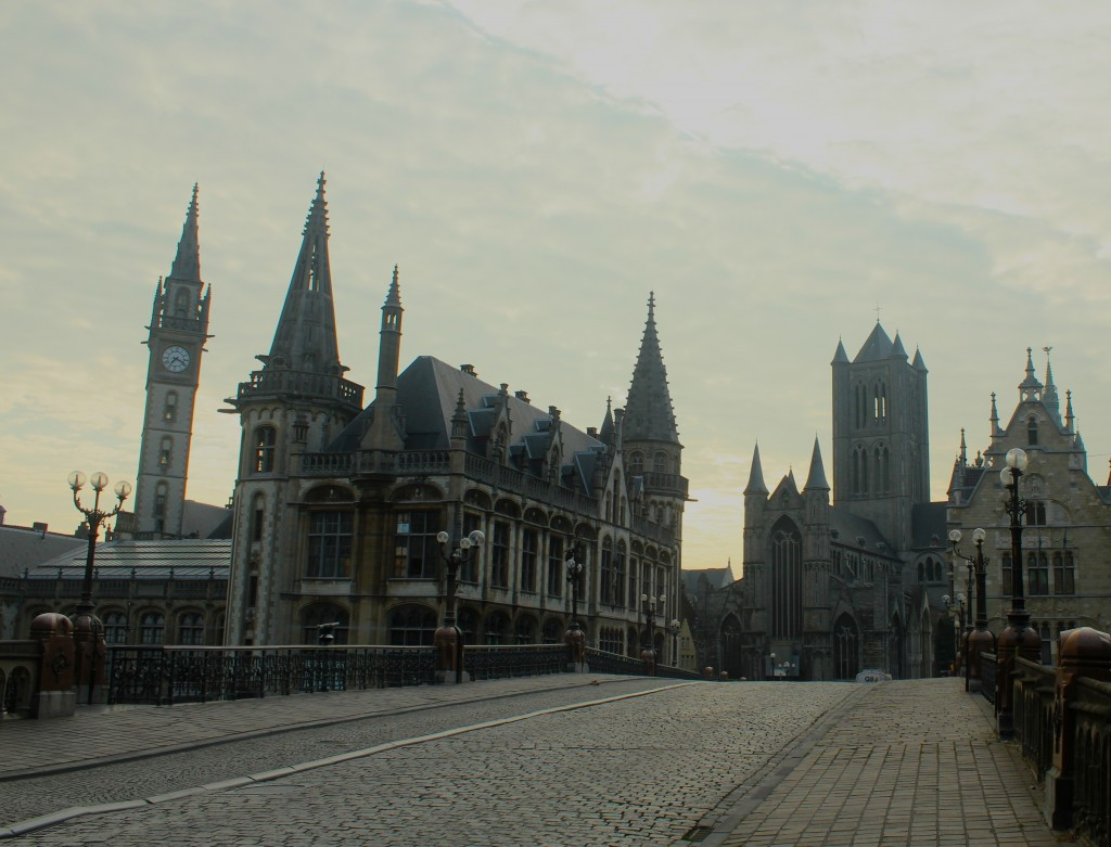 Ghent in the morning