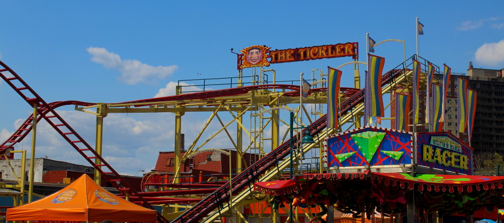 """The Tickler"" is evidently what you can call a Coney Island ride..."