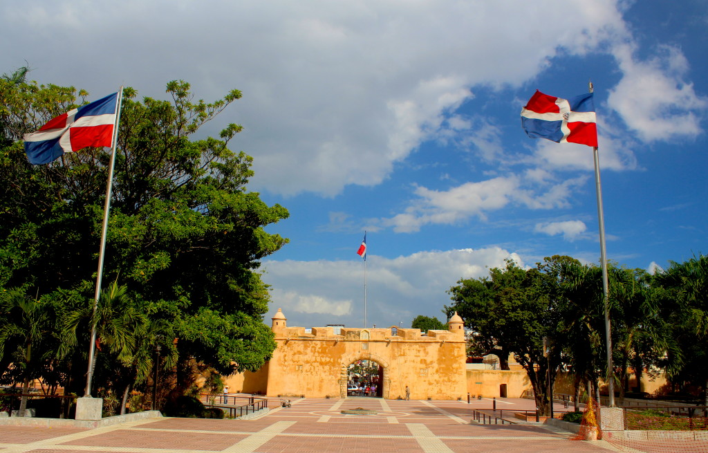Independence Park in Santo Domingo
