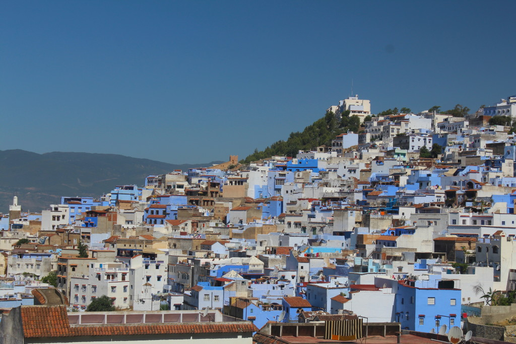 Chefchaouen, a beautiful and quaint city in northeastern Morocco