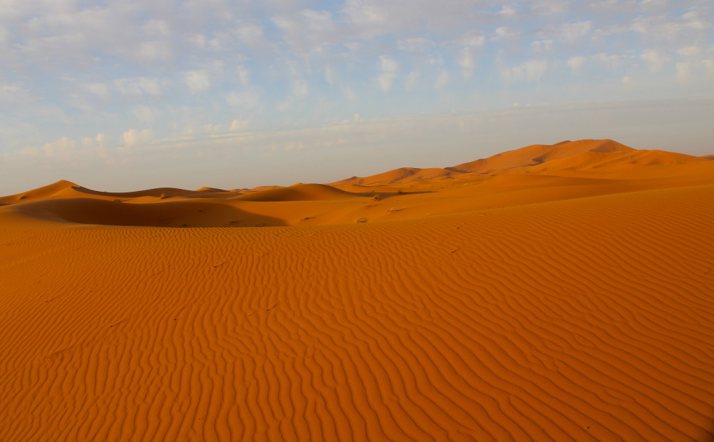 The Sahara Desert is surreal